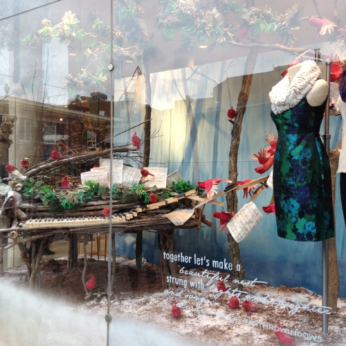 anthropologie christmas window cambridge