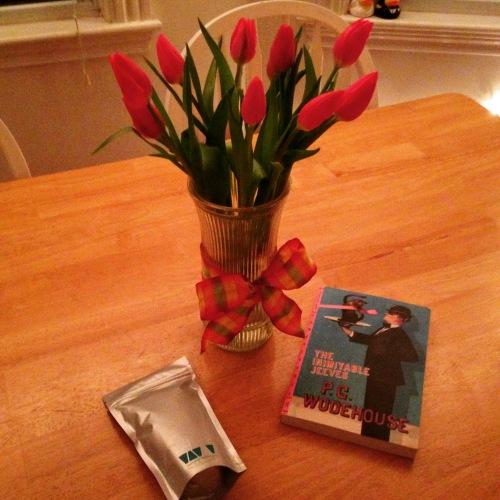 tulips tea jeeves