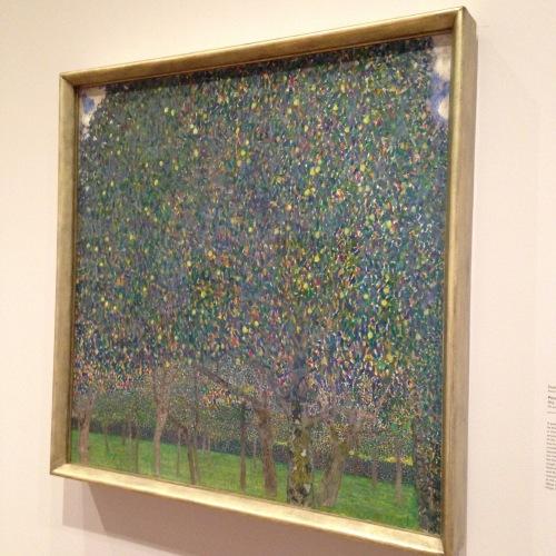 pear tree gustav klimt painting