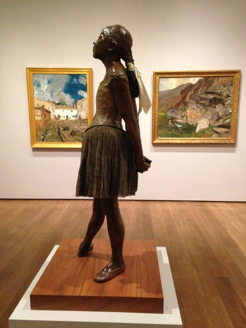 degas little dancer sculpture