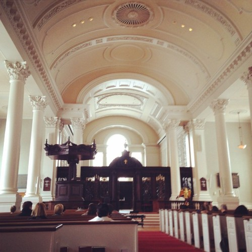 memorial church interior