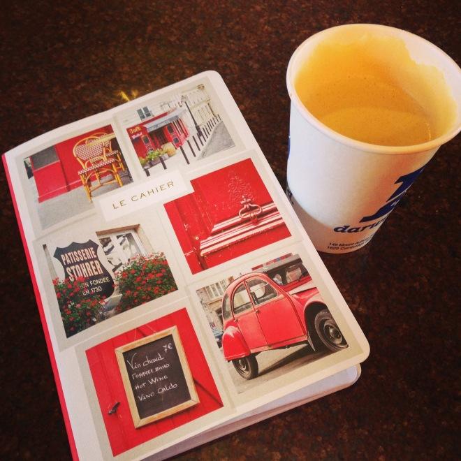 red journal chai darwins
