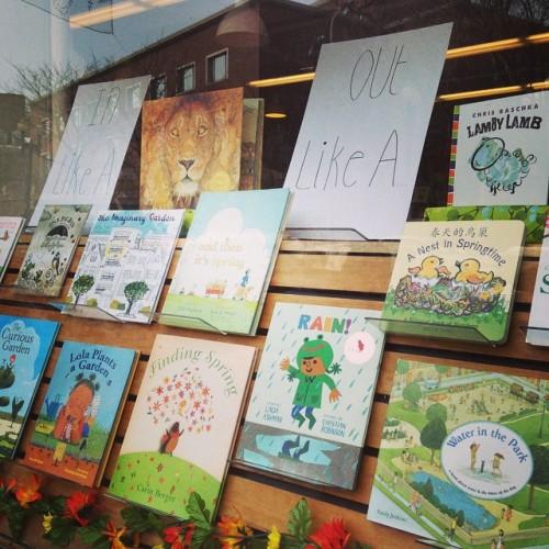 spring picture books harvard book store cambridge ma