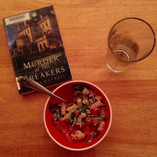 pasta salad red bowl book