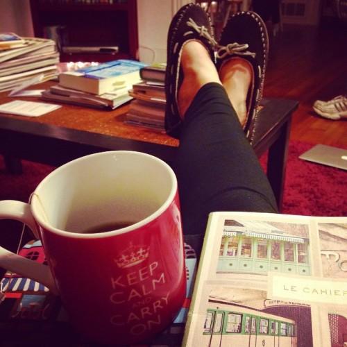 slippers tea journal