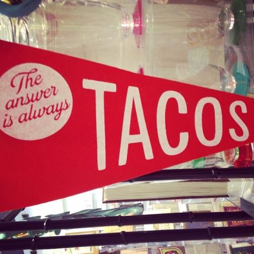 tacos pennant