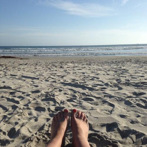 toes beach san diego