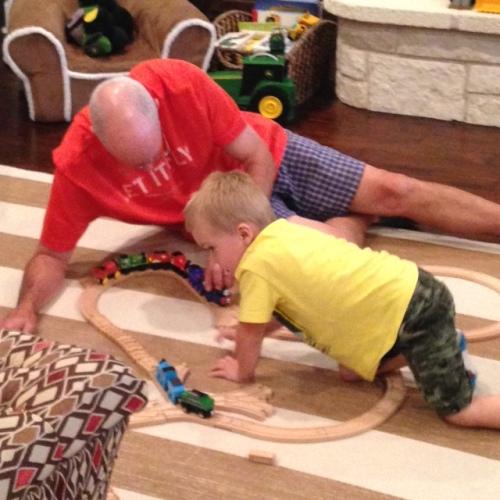 dad ryder trains
