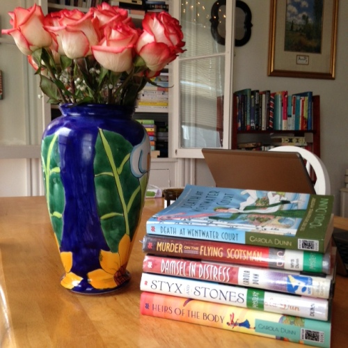 daisy dalrymple books mystery
