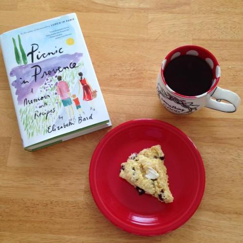picnic in provence book scone tea