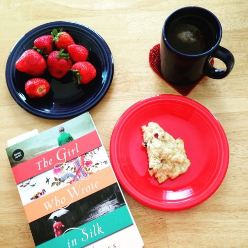 strawberry book breakfast