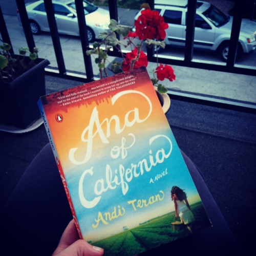 ana of california book geraniums front porch