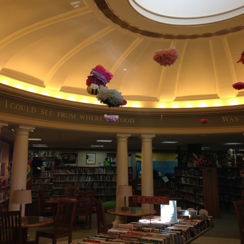camden maine library interior
