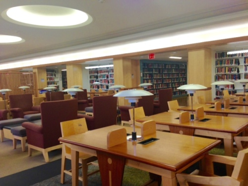 donatelli reading room lamont library harvard