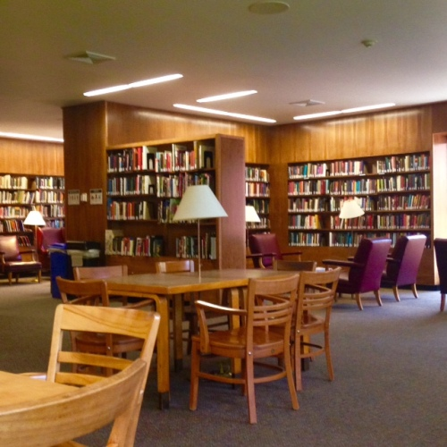 farnsworth reading room lamont library harvard