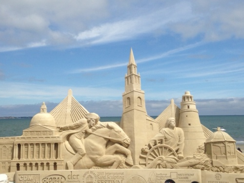 revere beach sandcastle