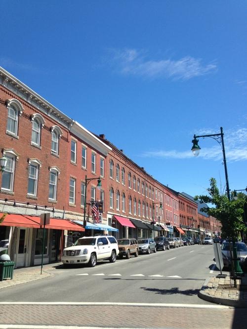 rockland maine main street