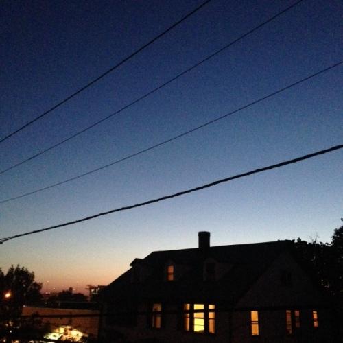 august break air blue sky