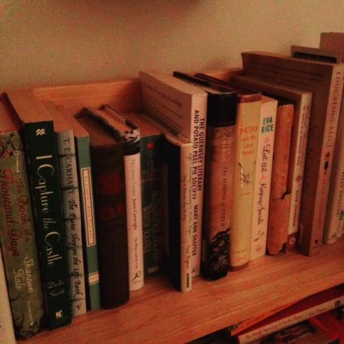 favorites bookshelf
