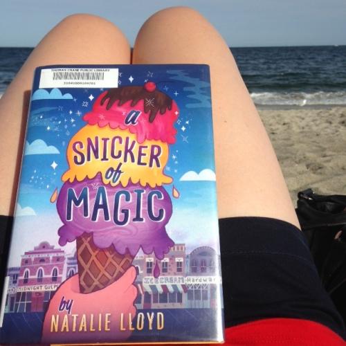 snicker of magic book beach summer