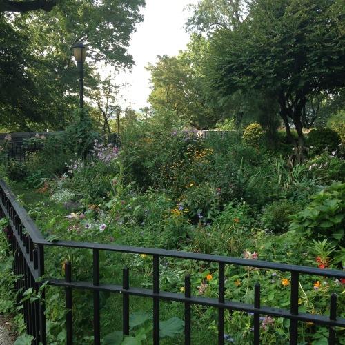 91st street garden fence nyc