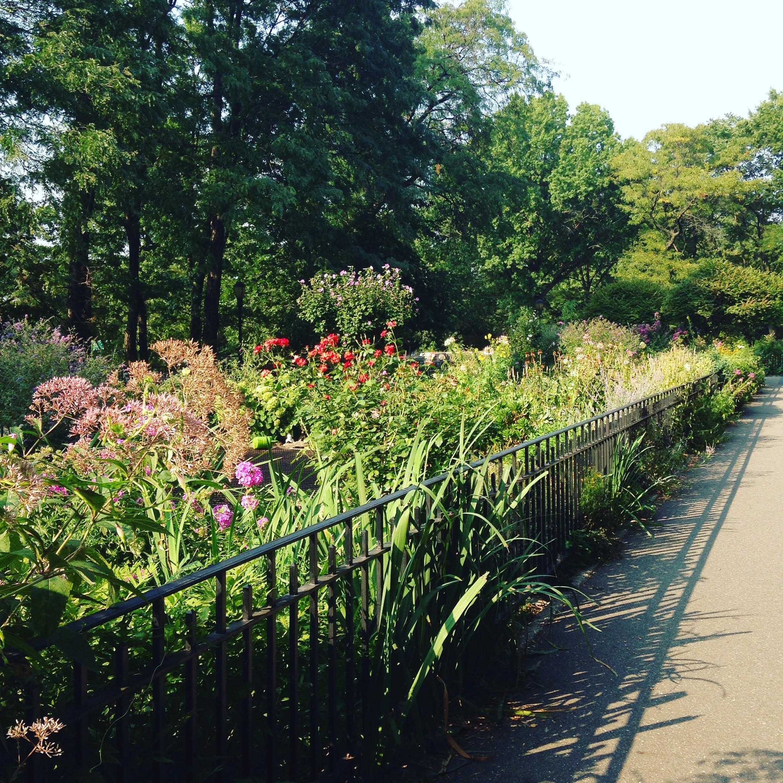 Perfect 91 Street Garden Riverside Park Nyc