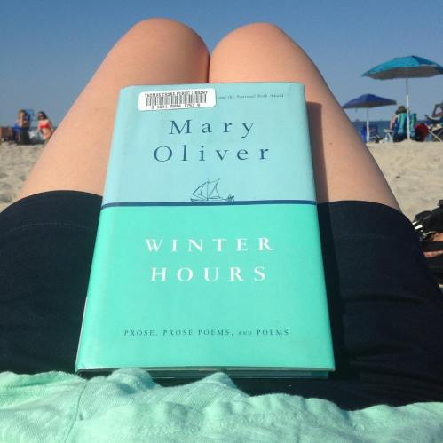 mary oliver winter hours beach