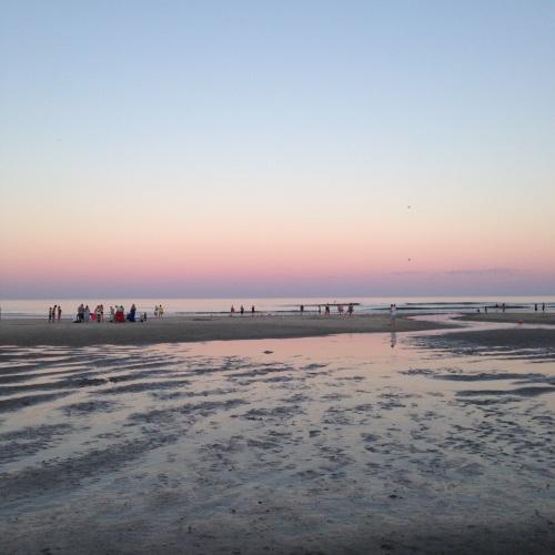 ogunquit beach sunset