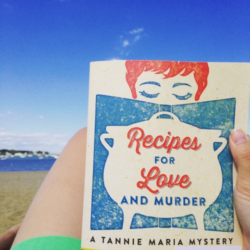 recipes for love and murder cover beach