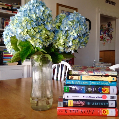 september books hydrangeas
