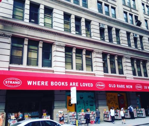 strand books nyc exterior