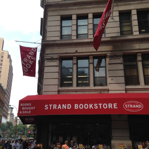 strand bookstore exterior nyc