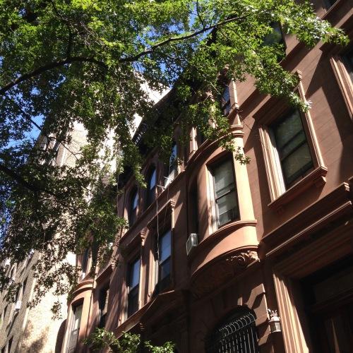 upper west side brownstones nyc