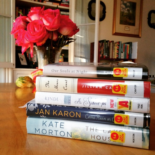 library stack roses