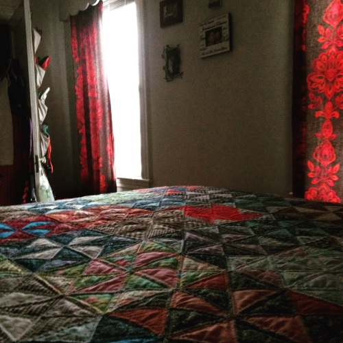 quilt morning light