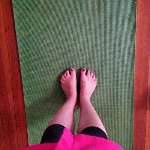 yoga mat leggings