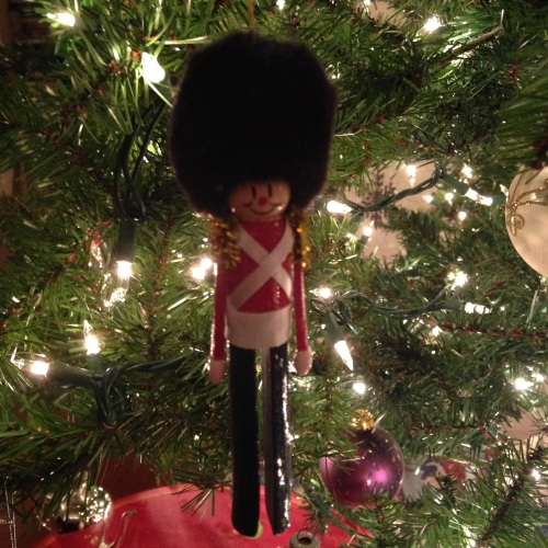 beefeater soldier christmas ornament