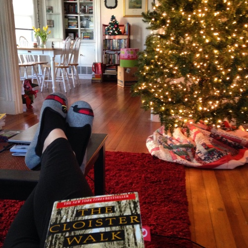christmas tree cloister walk