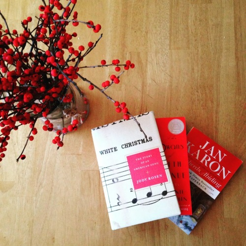 red christmas books