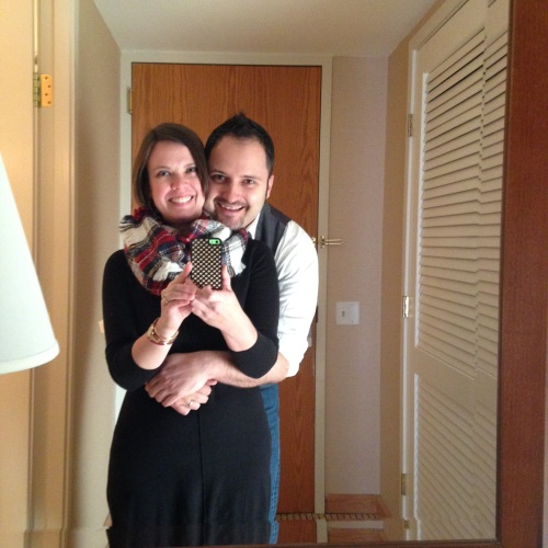 k j hotel mirror selfie