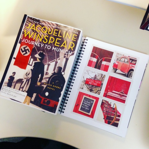 maisie paris planner red books