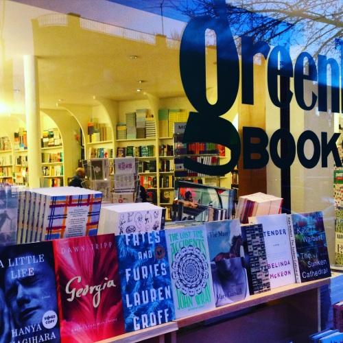 greenlight bookstore window brooklyn