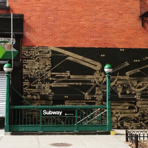 subway public art nyc
