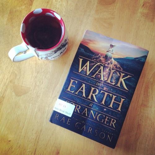 walk on earth a stranger book rae carson mug