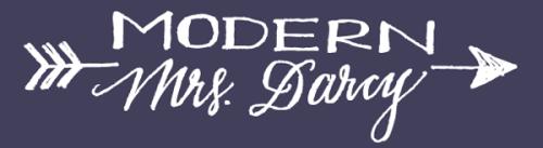 modern mrs darcy banner