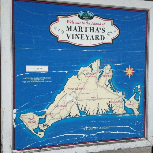 marthas vineyard map ma
