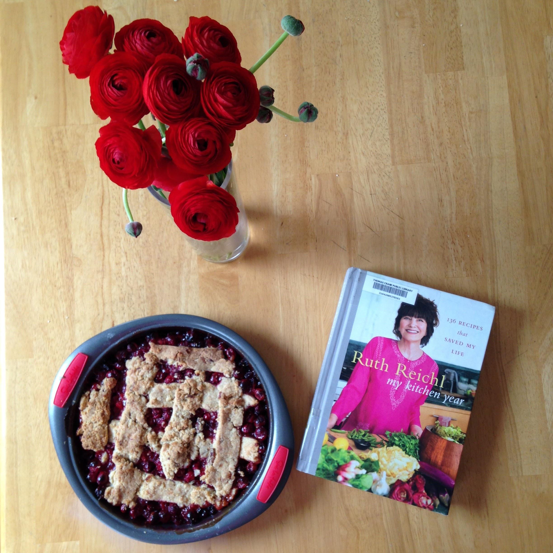 my kitchen year book pie flowers