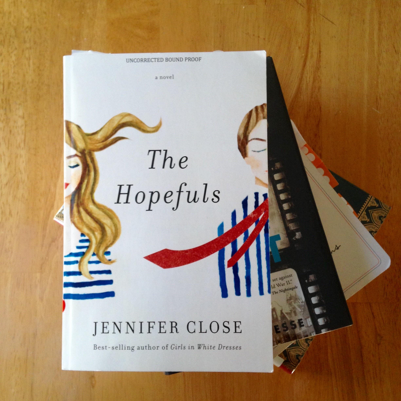 hopefuls book stack books