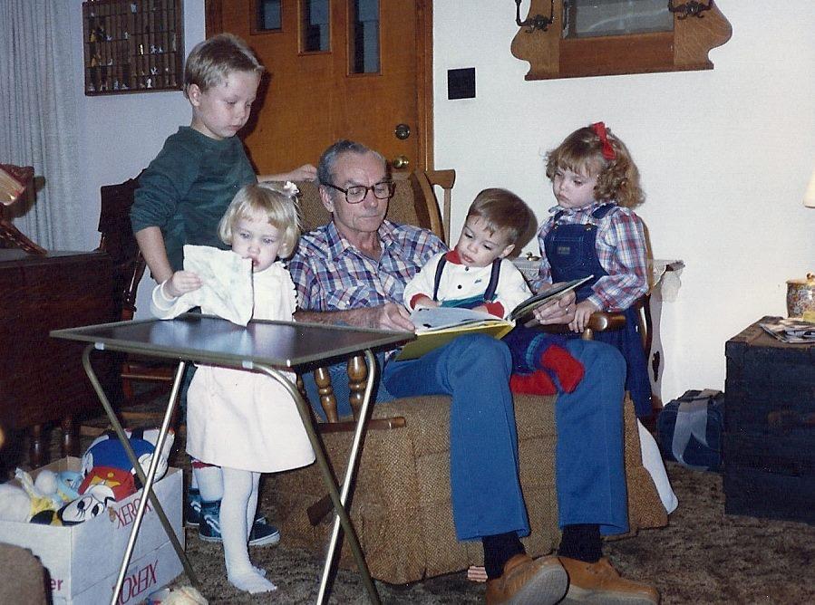 papaw-grandkids