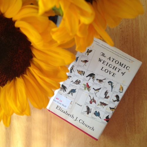 atomic weight of love book sunflowers
